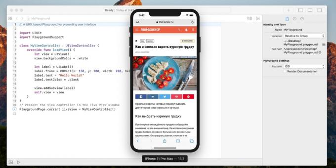 Emulator IOS: Xcode Simulator